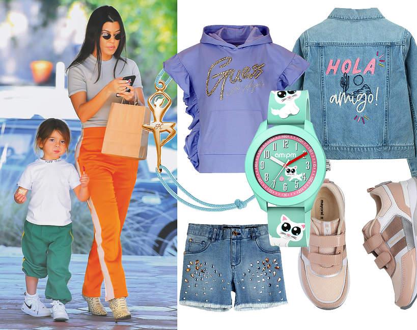 viva!mama ubrania na luzie dla dzieci kourtney kardashian