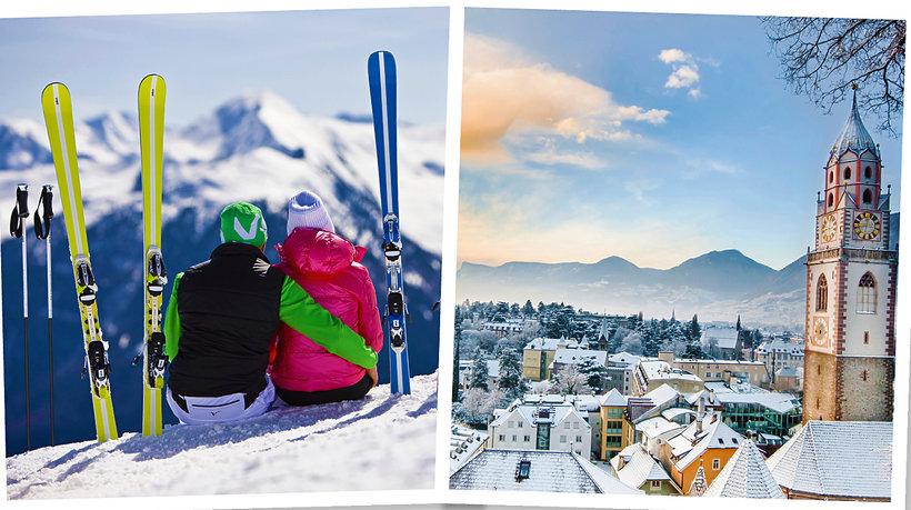 Włoskie Alpy - Południowy Tyrol na narty