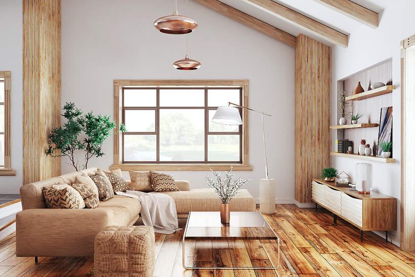 wnetrza-wiosna-2021-koniec-minimalizmu-przytulne-meble-salon-welurowa-kanapa-sciany-boho-styl-sypialnia-drewno-meble