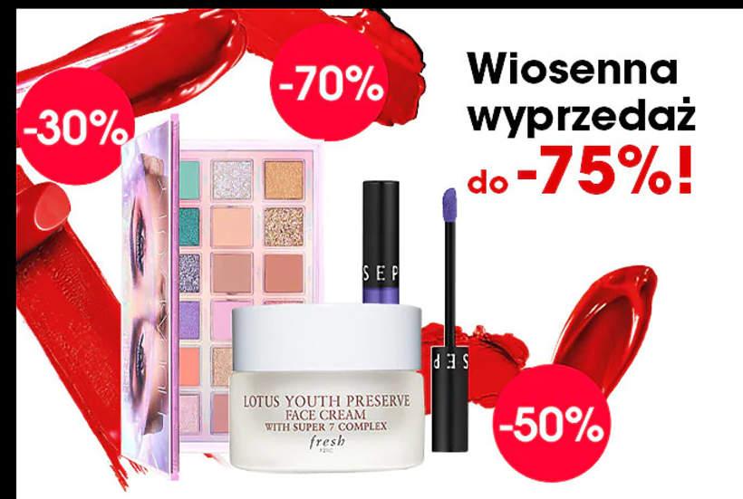 Wyprzedaż w Sephorze Sephora.pl promocje do 70% cen