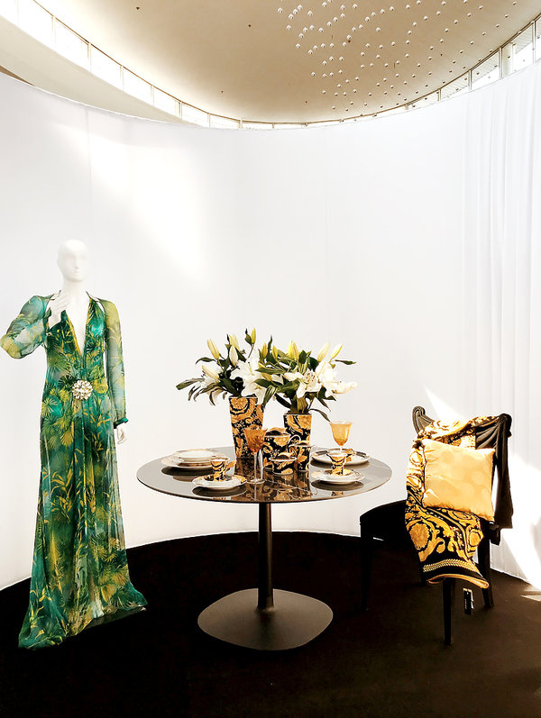wystawa Versace x Rosenthal