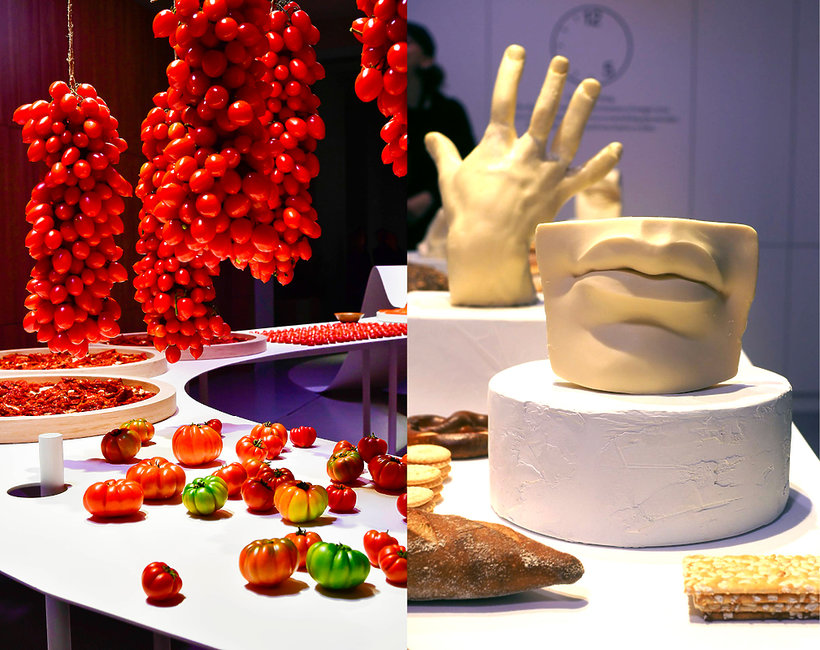 wystawa z jedzenia Milan Design Week