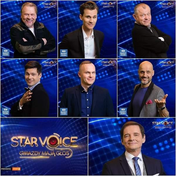 Star Voice. Gwiazdy mają głos- lista uczestników