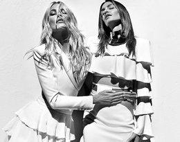 Cindy Crawford, Claudia Schiffer w kampanii domu mody Balmain