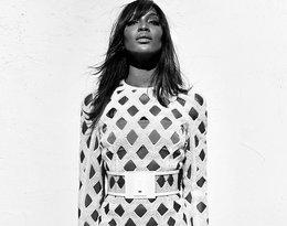 Naomi Campbell w kampanii domu mody Balmain