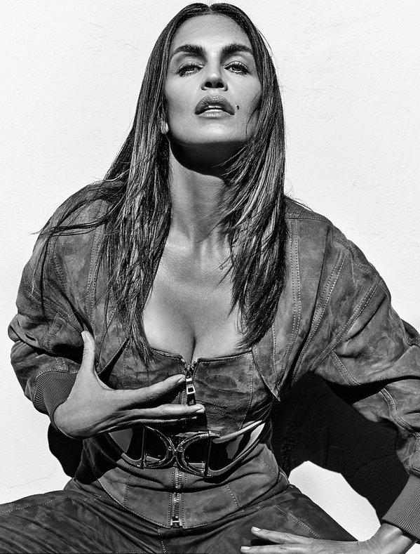 Cindy Crawford w kampanii domu mody Balmain