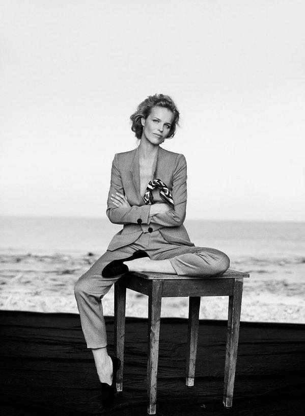 Eva Herzigova w kampanii Giorgio Armani