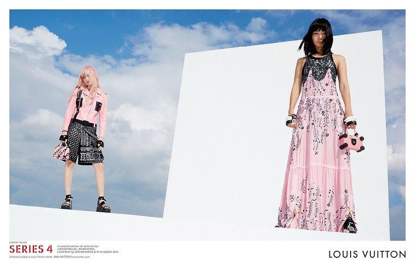 Fernanda Ly w kampanii Louis Vuitton na wiosnę 2016
