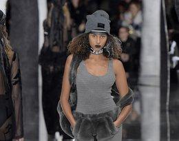 Modelka na pokazie Rihanny dla marki Puma. Fenty X Puma