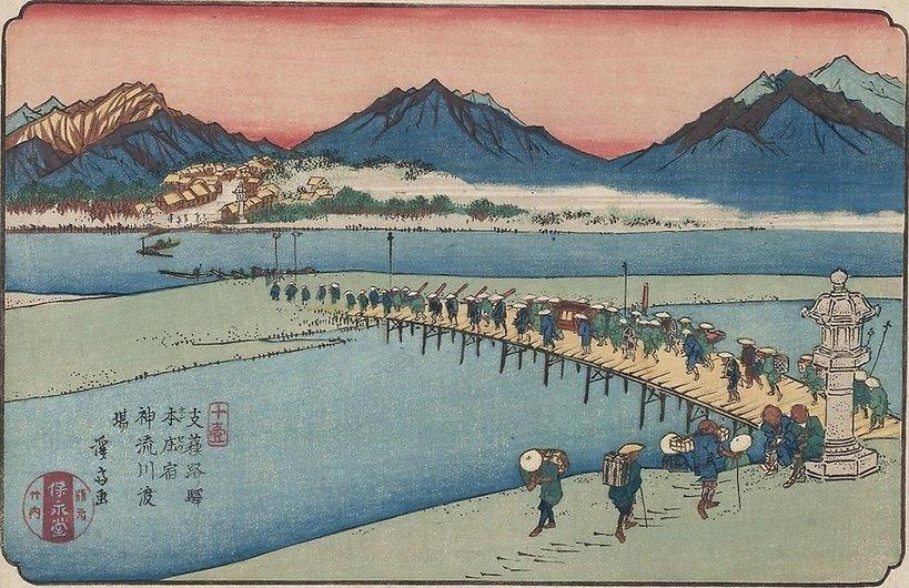 Wystawa Podróż do Edo. Japońskie drzeworyty ukiyo-e z kolekcji Jerzego Leskowicza , Muzeum Narodowe w Warszawie