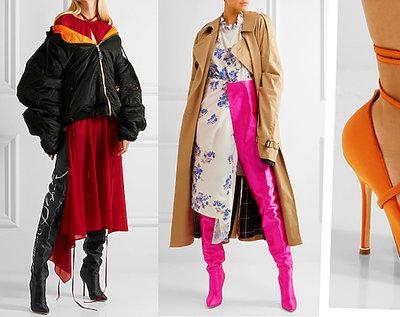 Kolekcja butów Vetements x Manolo Blahnik