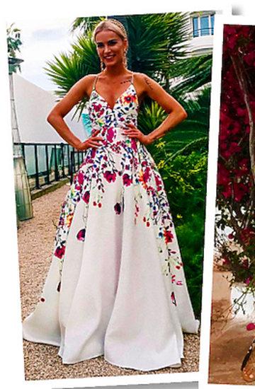 Maffashion, Marina Łuczenko-Szczęsna w zwiewnych sukniach w kwiaty