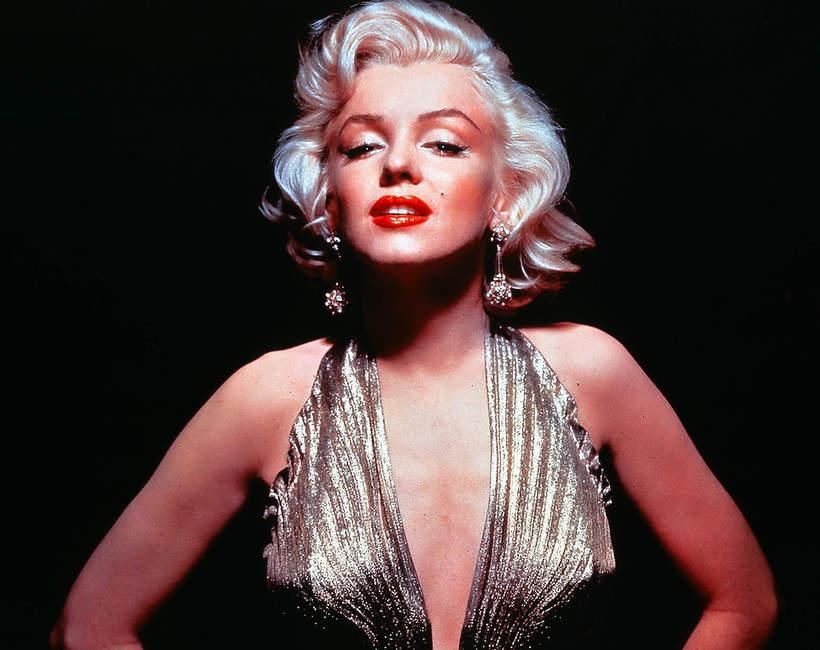 Marilyn-Monroe-czerwone-usta-krotkie-blond-ulubione-marki