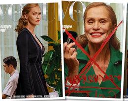 """73-letnia Lauren Hutton została najstarszą gwiazdą, która pojawiła się na okładce """"Vogue'a"""". Do kogo wcześniej należał rekord?"""