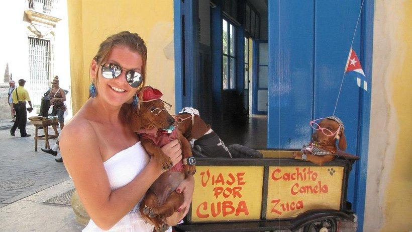Agnieszka Radwańska w podróży na Kubę