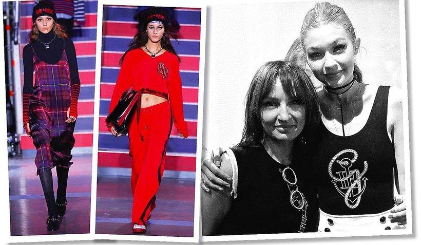 Agnieszka Ścibior o pokazie Tommy'ego Hilfigera z Londynu w najnowszym numerze VIVA! MODA