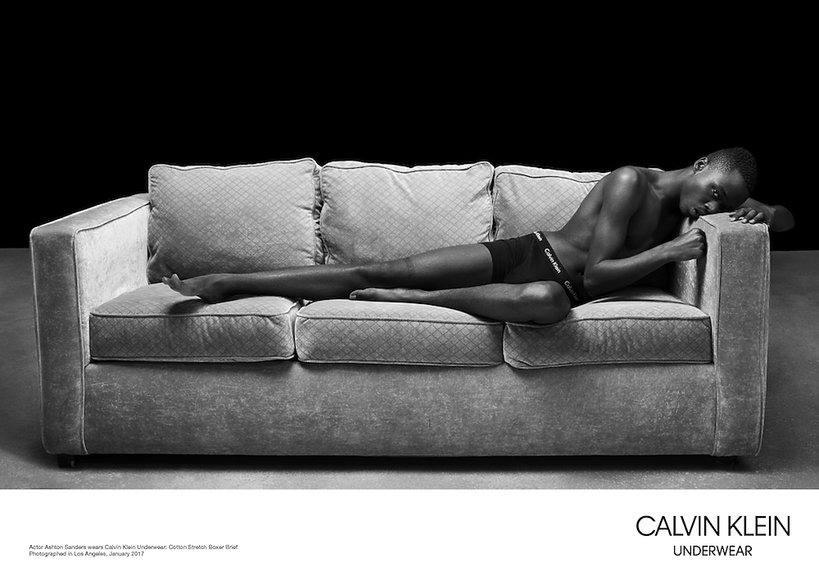 """Aktorzy z filmu """"Moonlight"""" najnowszej reklamie bielizny Calvin Klein"""