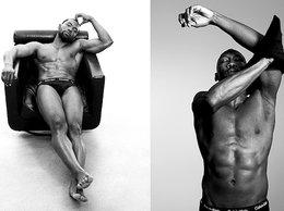 """Aktorzy z filmu """"Moonlight""""w najnowszej kampanii bielizny marki Calvin Klein"""