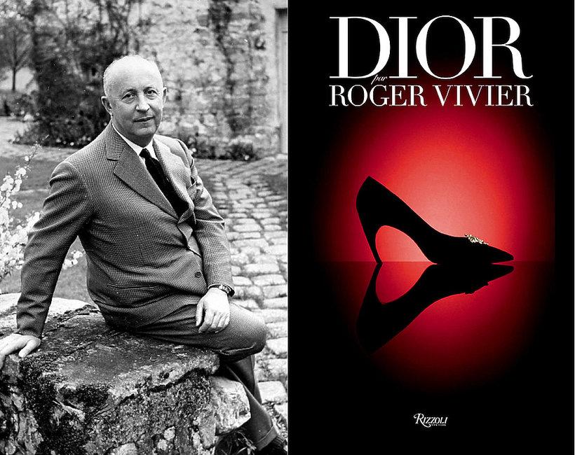 """Album """"Dior by Roger Vivier"""" o szewcy, który projektował buty dla domu mody Dior"""