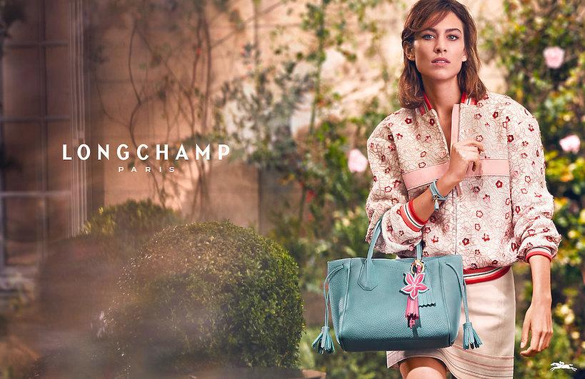 Alexa Chung w najnowszej kampanii marki Longchamp