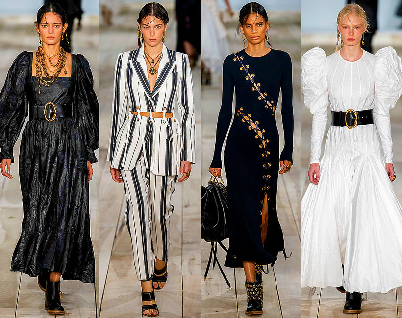 Alexander McQueen kolekcja na wiosnę 2020
