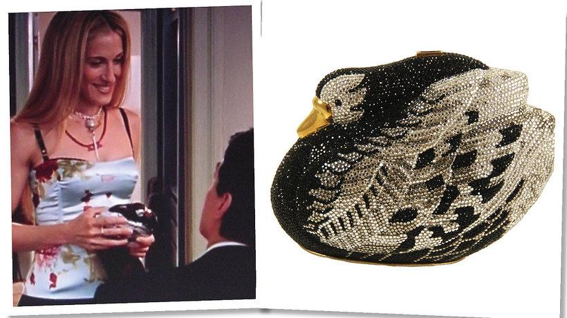 """Alexander Wang i znana z """"Seksu w wielkim mieście"""" projektantka Judith Leiber zaprojektowali torebkę"""