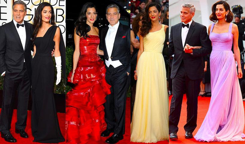 Amal Clooney stylizacja na czerwonym dywanie- MAIN TOPIC