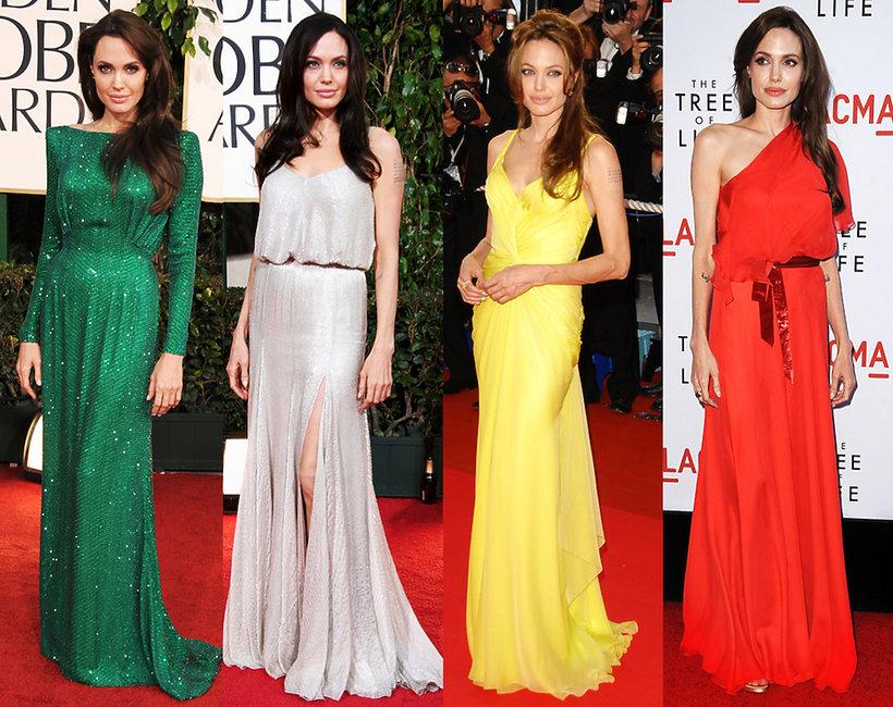 Angelina Jolie urodziny stylizacje