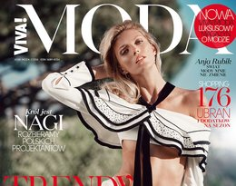 Anja Rubik na okładce magazynu Viva! Moda
