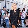 Anja Rubik na pokazach haute couture w Paryżu na jesień 2017/2018