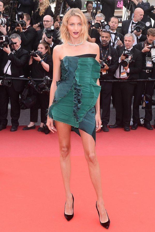 Anja Rubik w Cannes 2017