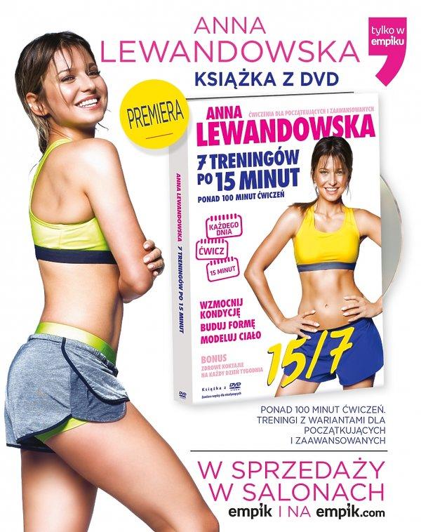 Anna Lewandowska - nowa płyta z ćwiczeniami