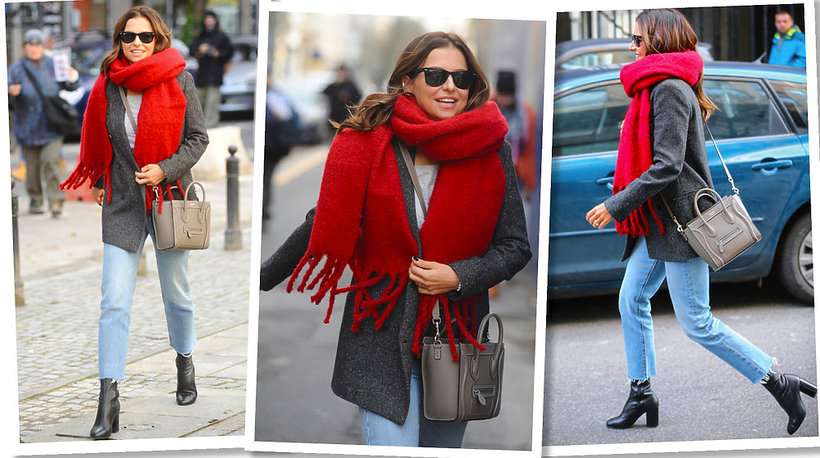 Anna Lewandowska z nową torbą Céline