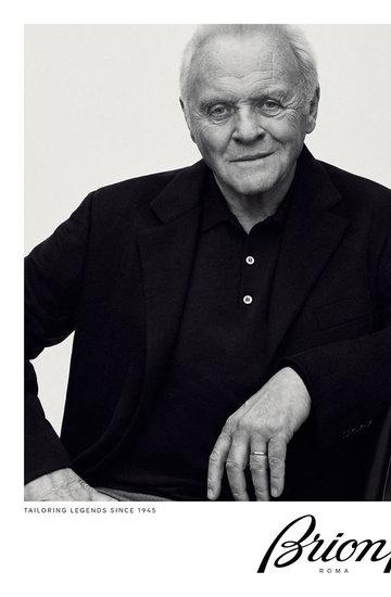 Anthony Hopkins w kampanii marki Brioni