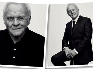 Anthony Hopkins w kampanii marki Brioni