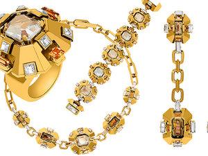 Atelier Swarovski kolekcja biżuterii stworzona z domem