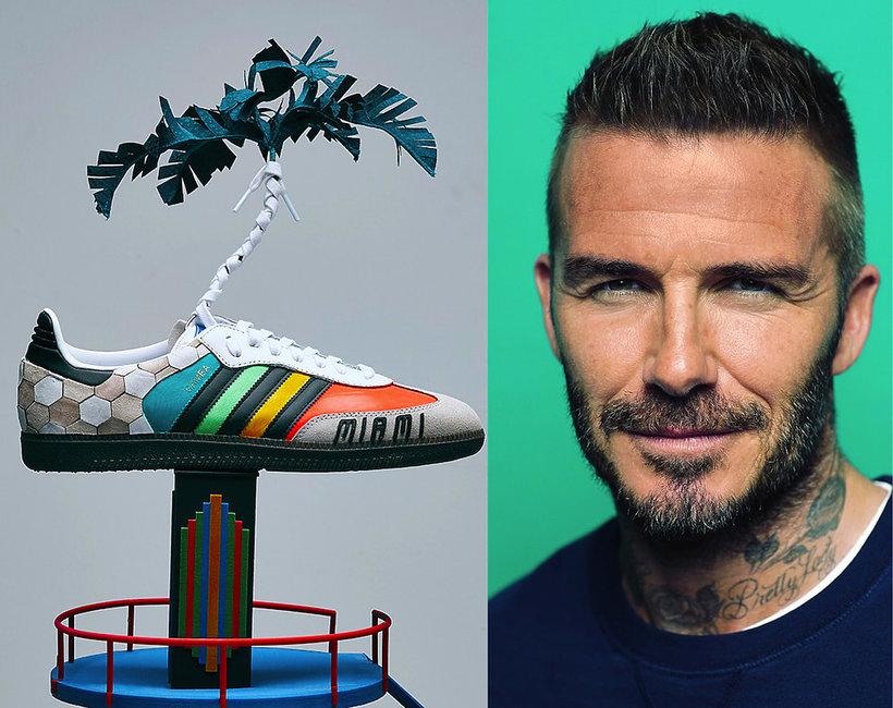 aukcja butów Adidas Samba w serwisie eBay.co.uk zaprojektowanych przez gwiazdy