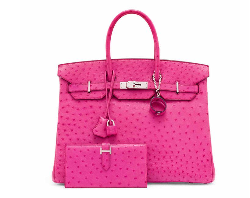 Aukcja luksusowych torebek w londyńskim Christie's