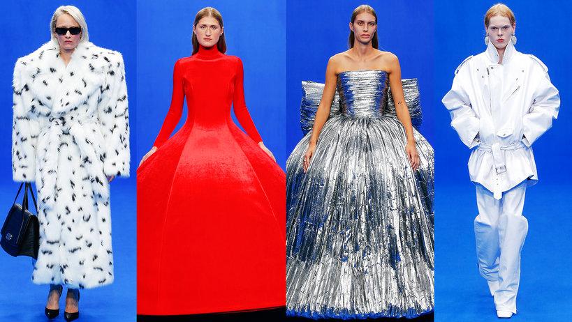 Balenciaga pokaz kolekcji na wiosnę 2020