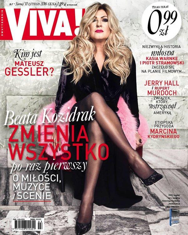 Beata Kozidrak, Viva! okładka