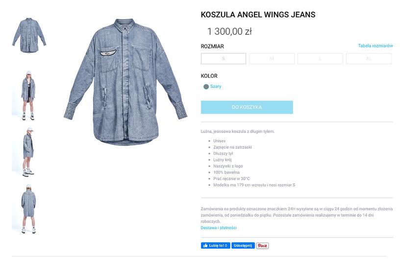 Beata Kozidrak w drogiej koszuli dżinsowej Kupisza