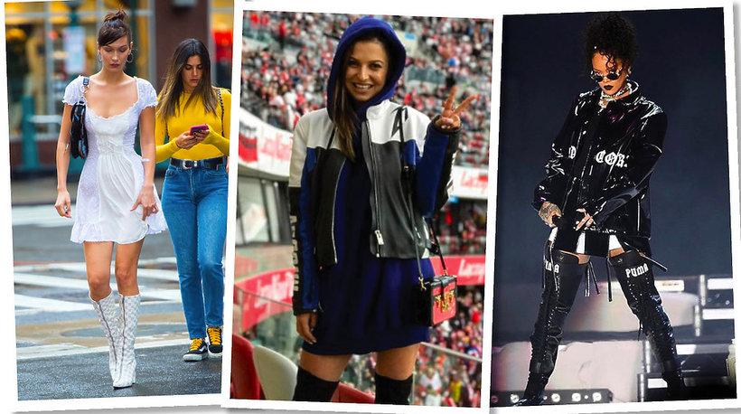 Bella Hadid, Rihanna, Anna Lewandowska w ubraniach i butach marki Misbhv