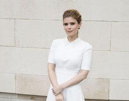 Biały total look najmodniejszy trend jesieni, Kate Mara