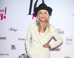 Biały total look najmodniejszy trend jesieni, Maja Sablewska