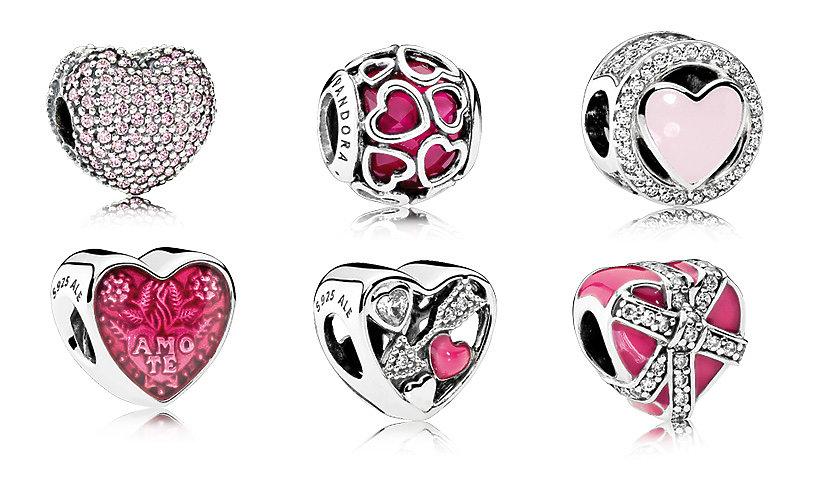 Biżuteria na walentynki marki Pandora