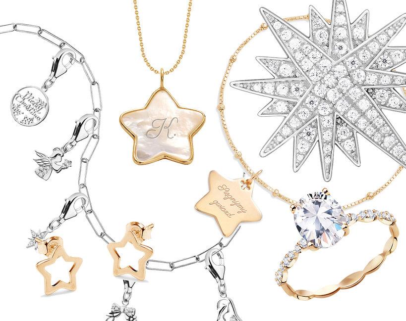 Biżuteria z motywem świątecznym  Apart Lilou W. Kruk YES Swarovski