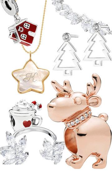 Biżuteria ze świątecznymi motywami