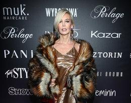 """Bogna Sworowska na pokazie kolekcji Roberta Kupisza na zimę 2018/19  """"Crown"""""""