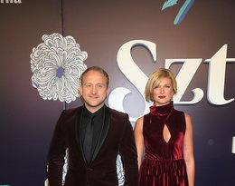 Borys Szyc i Justyna Nagłowska-Jeger