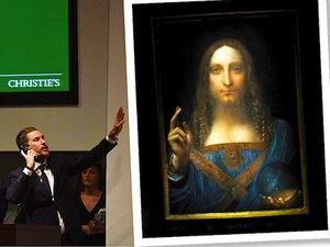 braz Leonardo da Vinci sprzedano za 450 milionów dolarów